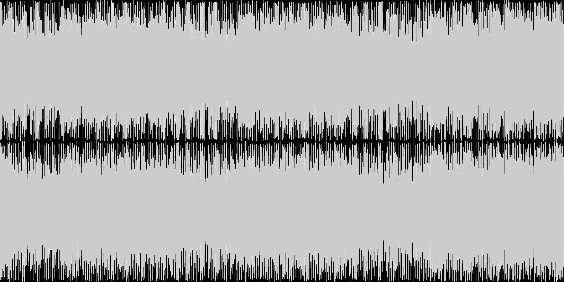 初代ぷよぷよのようなパズルゲーム ループの未再生の波形