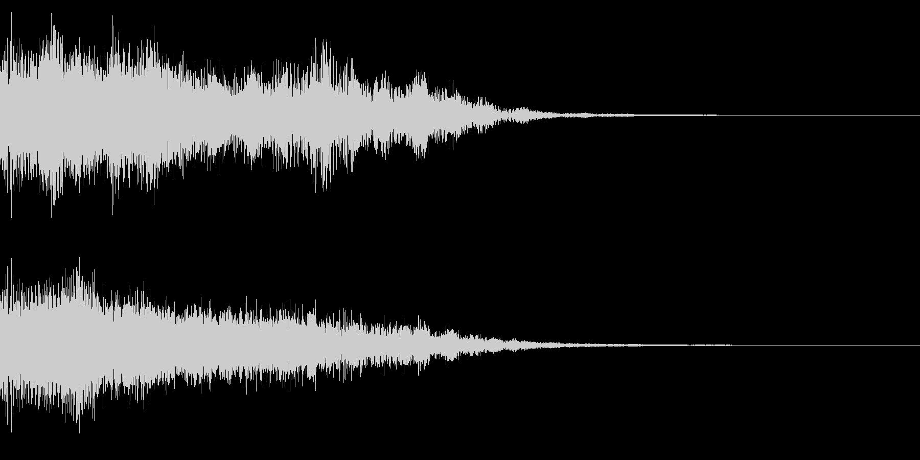 効果音 グォーン‼︎ 山神登場‼︎の未再生の波形