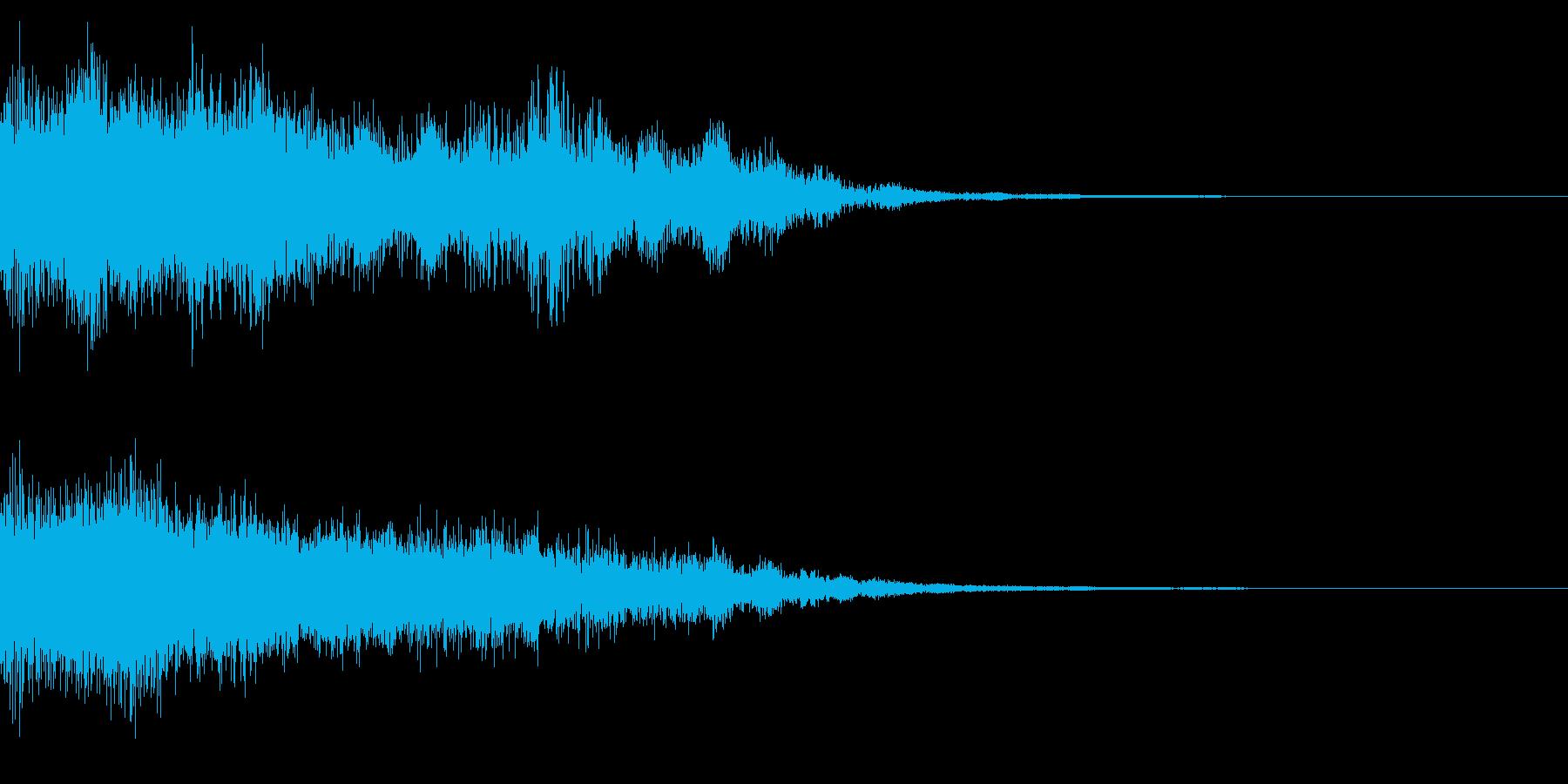 効果音 グォーン‼︎ 山神登場‼︎の再生済みの波形
