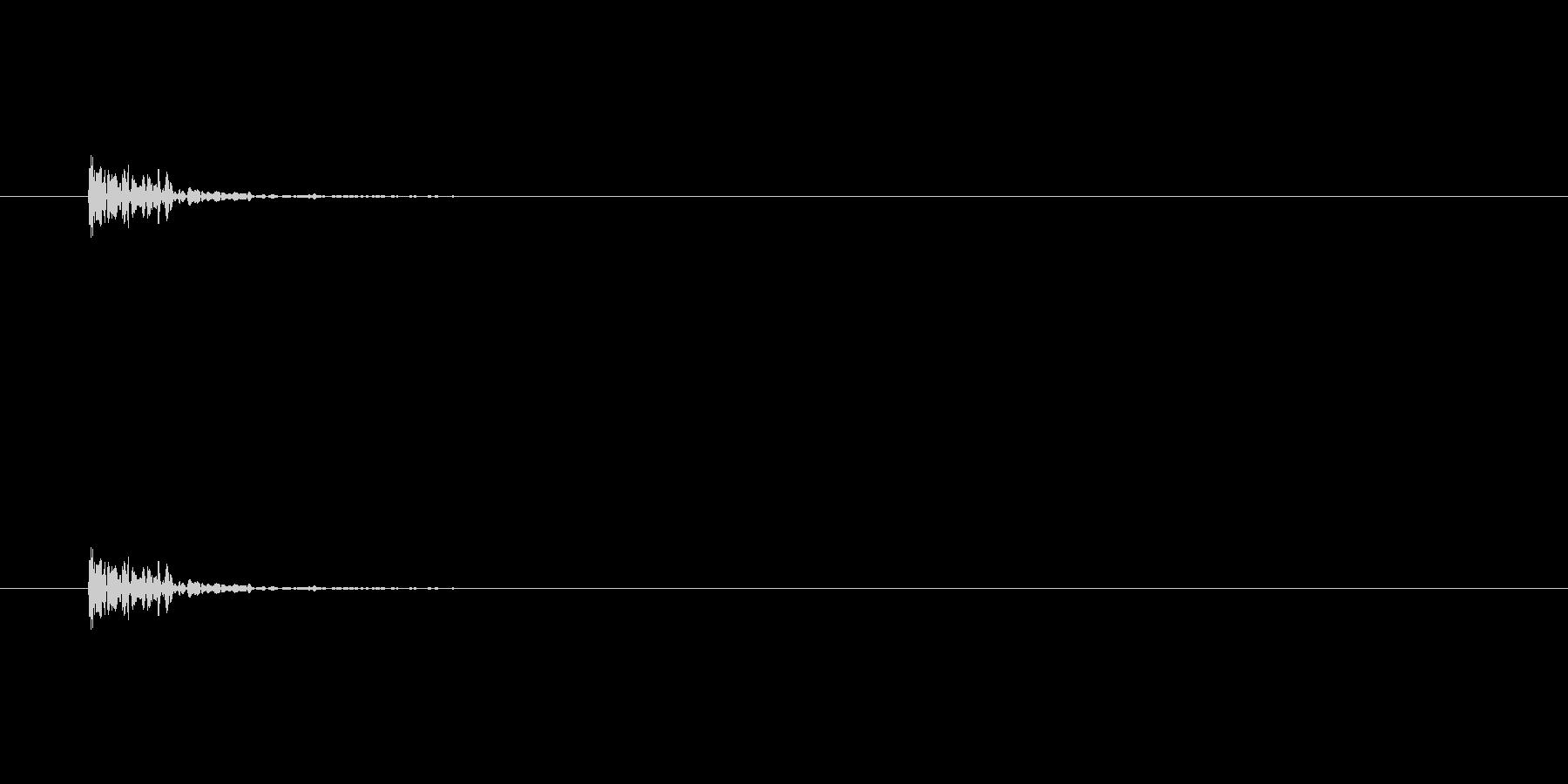 【セロテープ02-6(置く)】の未再生の波形