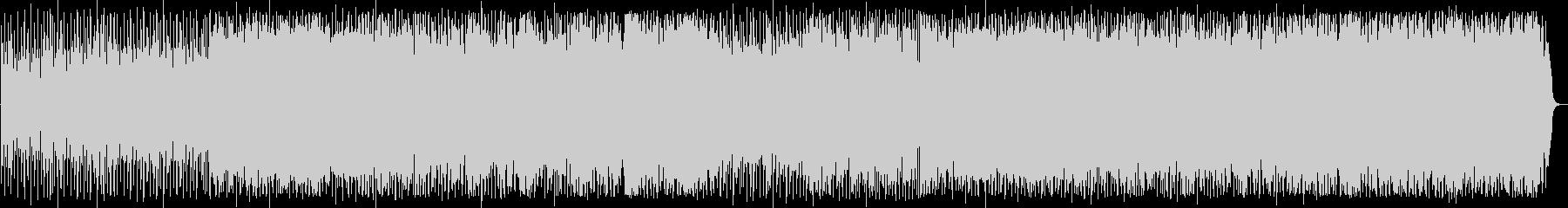 サンバのように軽快なポップハウス曲の未再生の波形