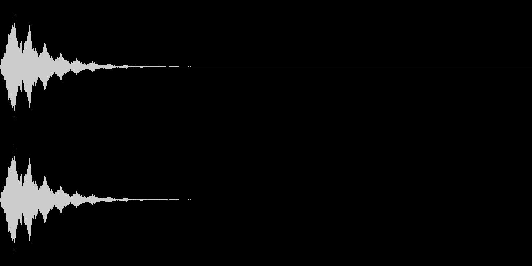 ワープ/転送装置/瞬間移動/SFの未再生の波形