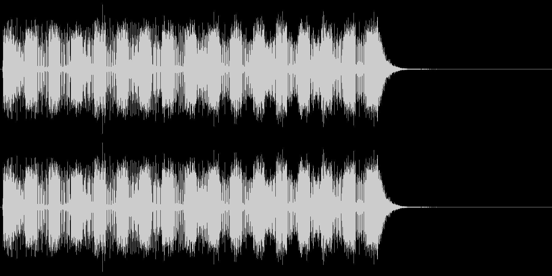 ドクドクドクドクドクとエネルギーが充填…の未再生の波形