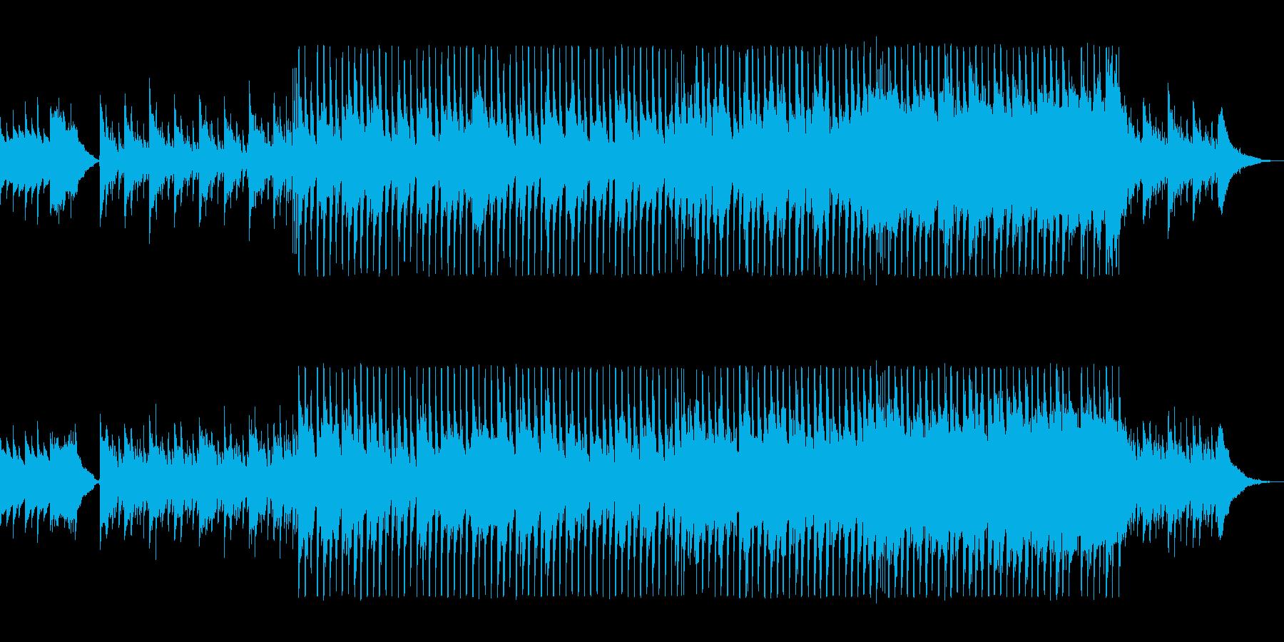 映像に合うかわいいクリスマスBGMの再生済みの波形