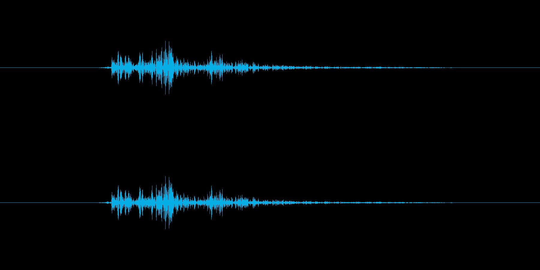 チャッ【カーソル音:クールで硬派】の再生済みの波形