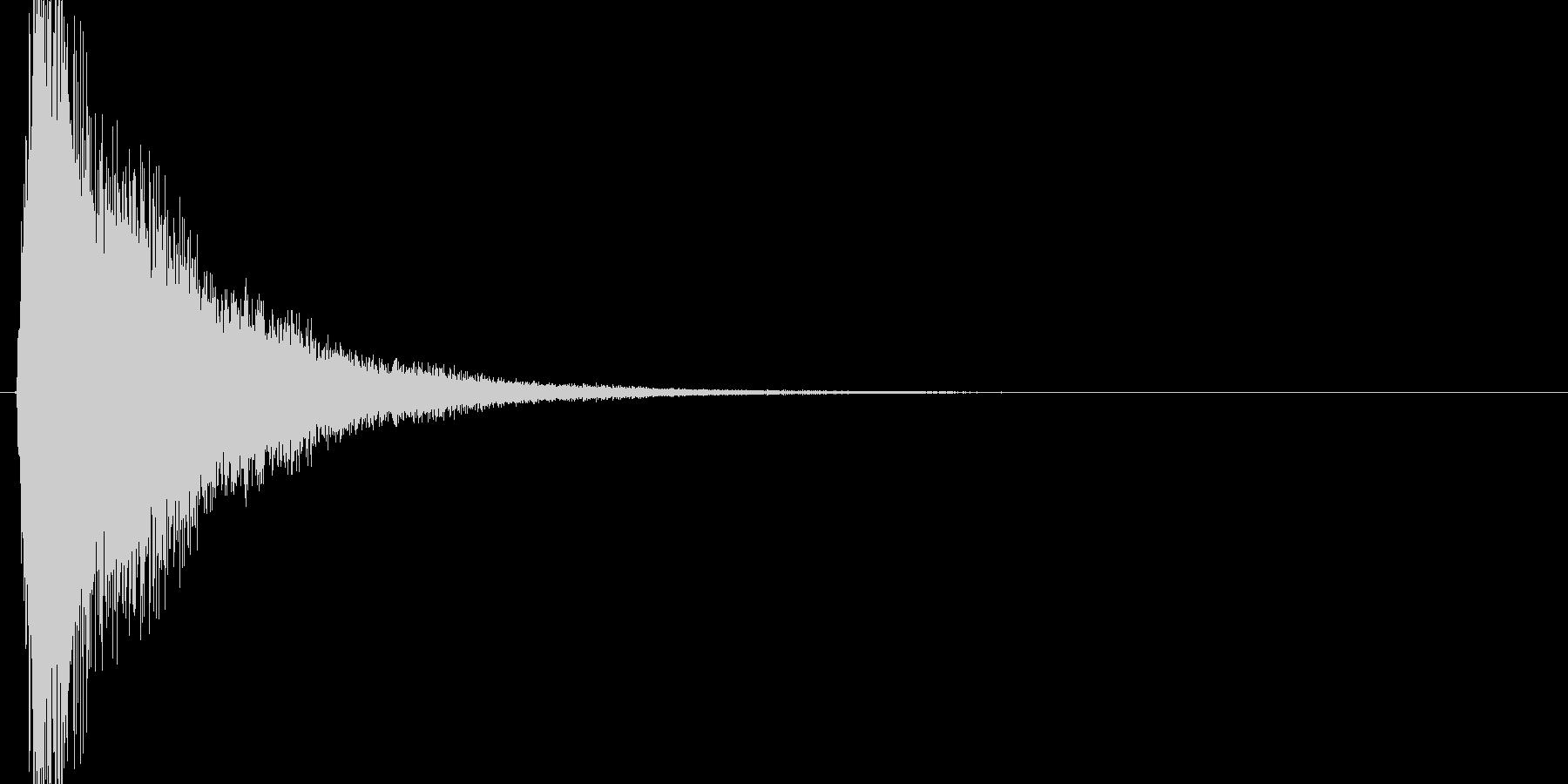 キューン(魔法詠唱、逃走、メーター)の未再生の波形