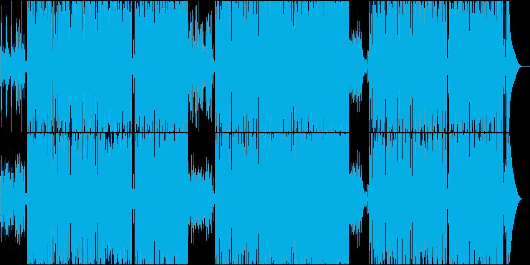 映像用ウクレレの可愛らしいカントリーの再生済みの波形