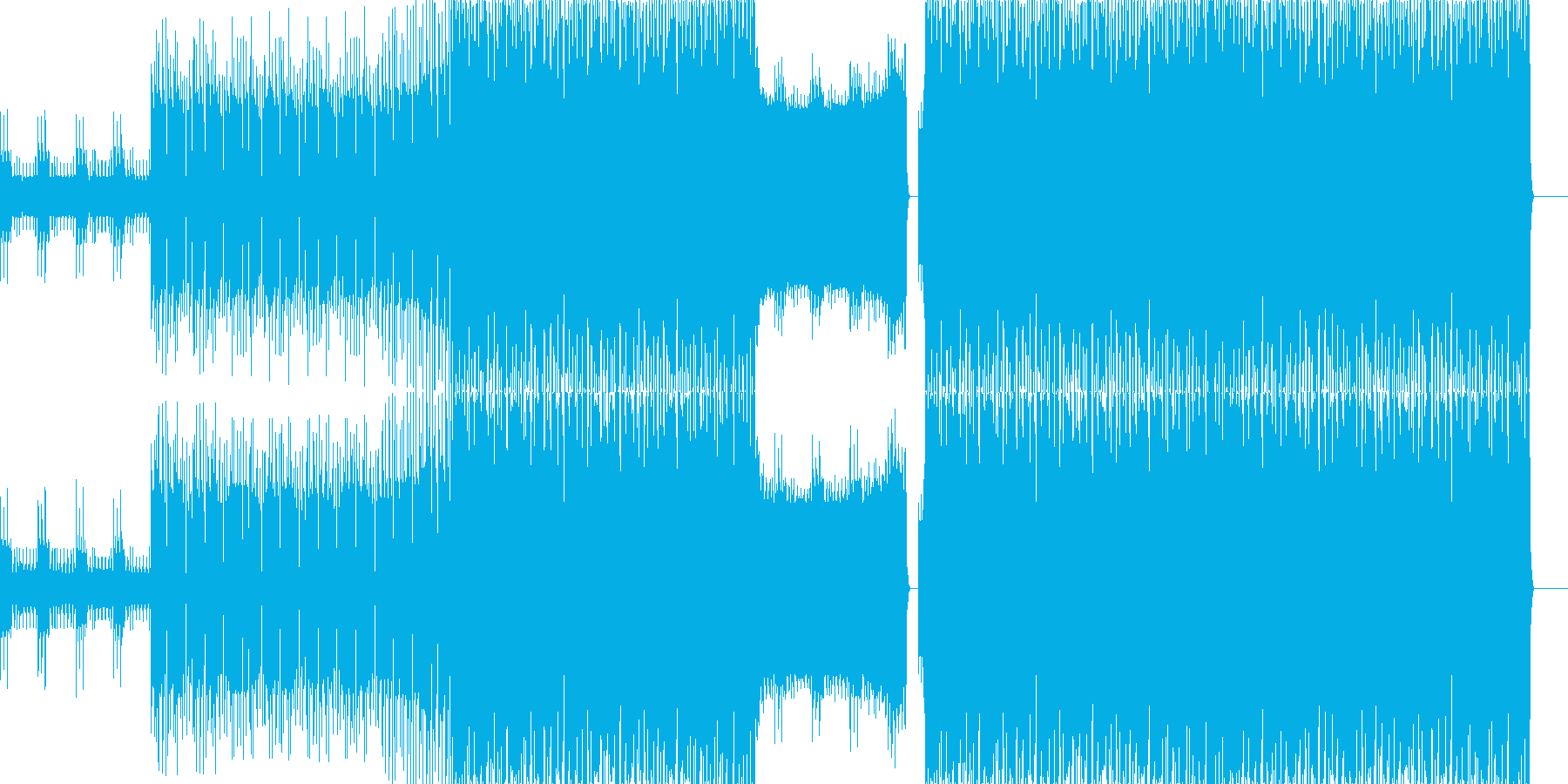シンセの音が印象的なテクノです。軽快な…の再生済みの波形