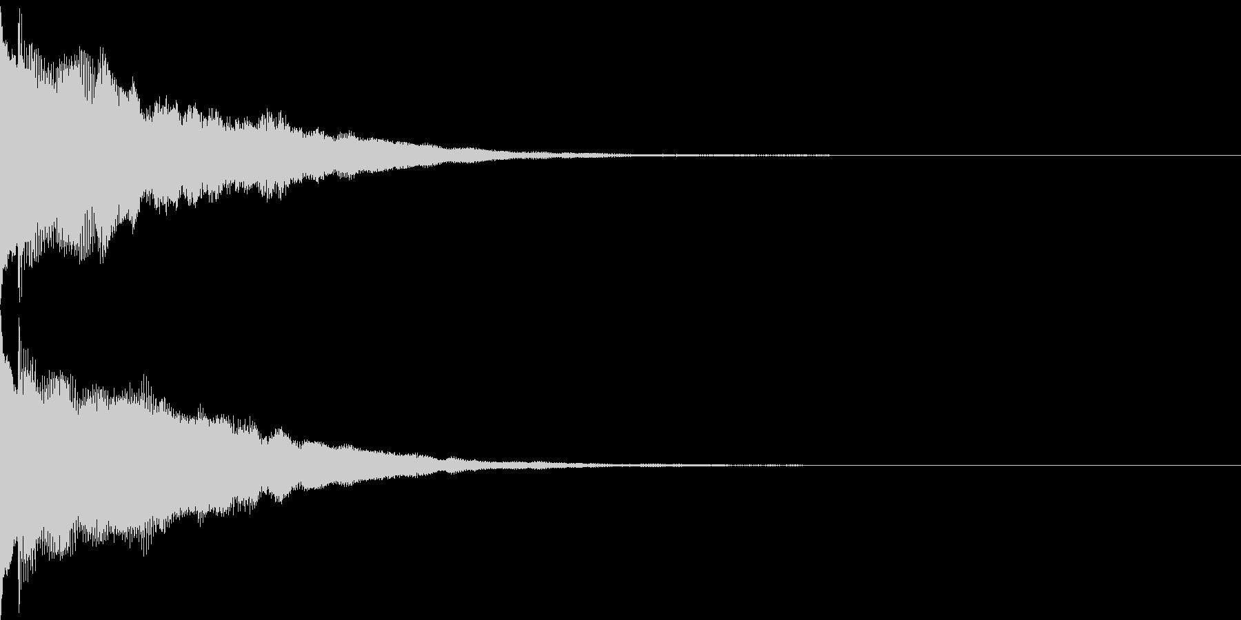キャンセル音08(シンセP)の未再生の波形