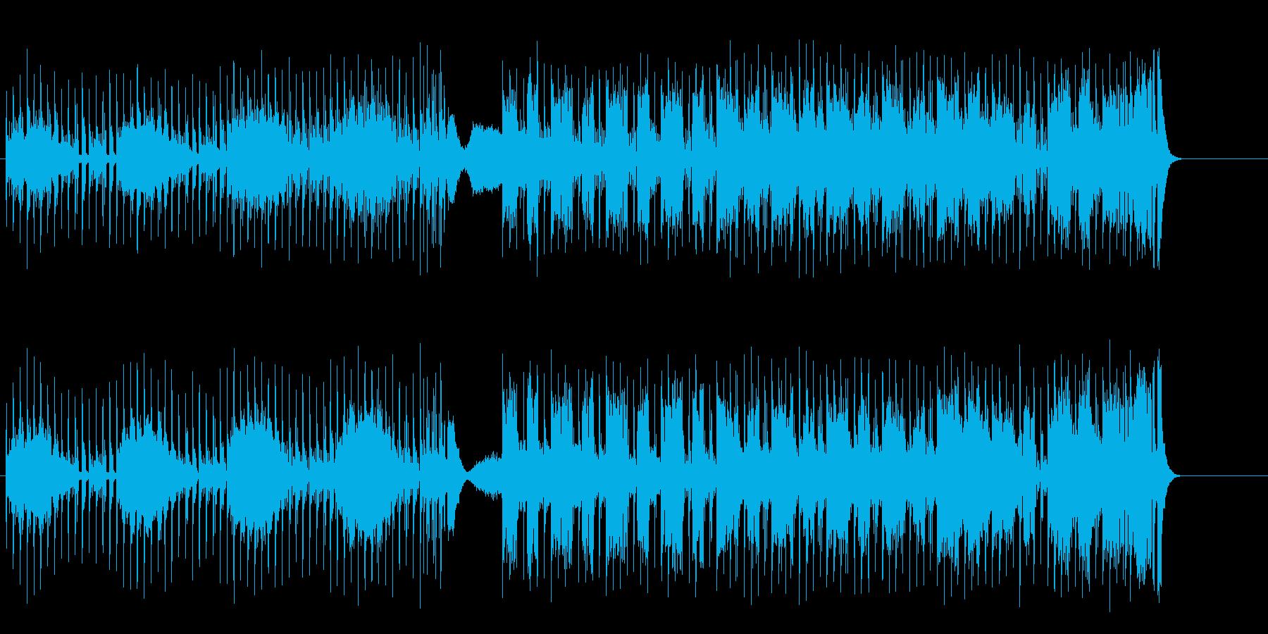 伝統回帰のファンキー&エレクトリックの再生済みの波形