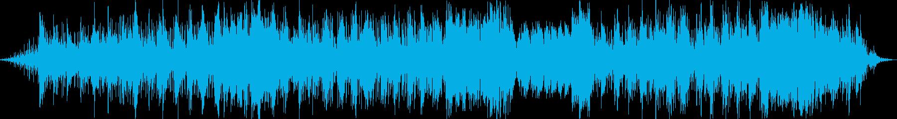 魅惑的なイージーリスニング曲の再生済みの波形