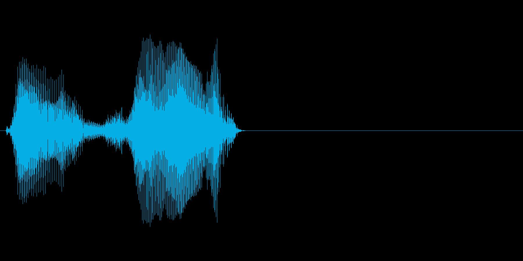 50の再生済みの波形