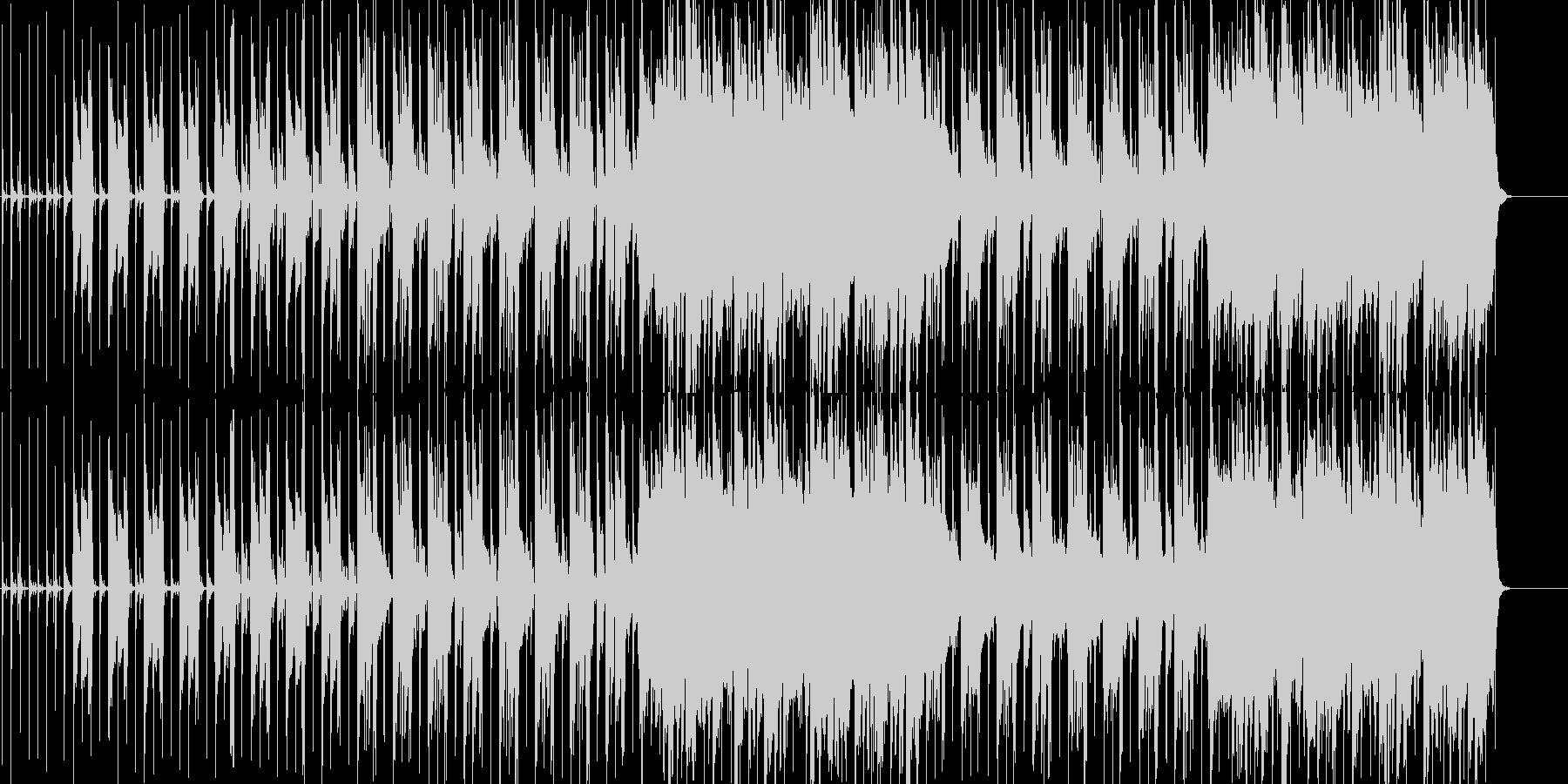 アコギメインのシンプルなポップスの未再生の波形