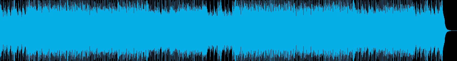 90年代テイストのRAVE・テクノハウスの再生済みの波形