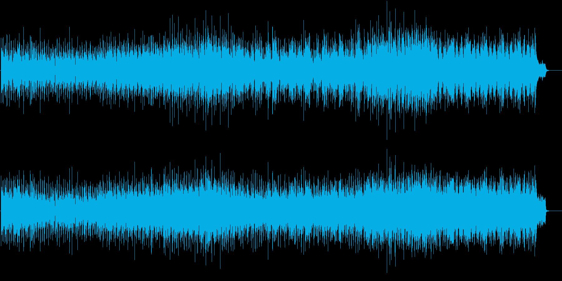 ブライトなボサノヴァ・ポップスの再生済みの波形