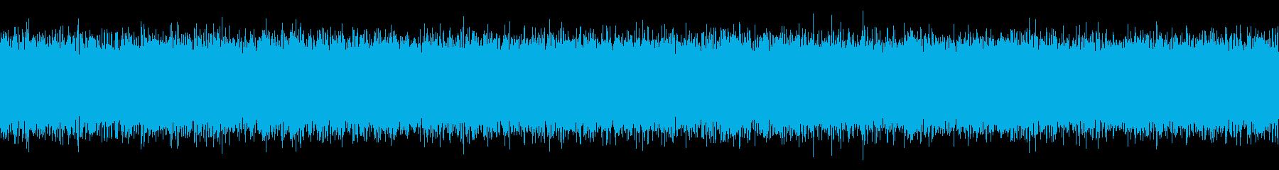 TVの砂嵐の音の再生済みの波形