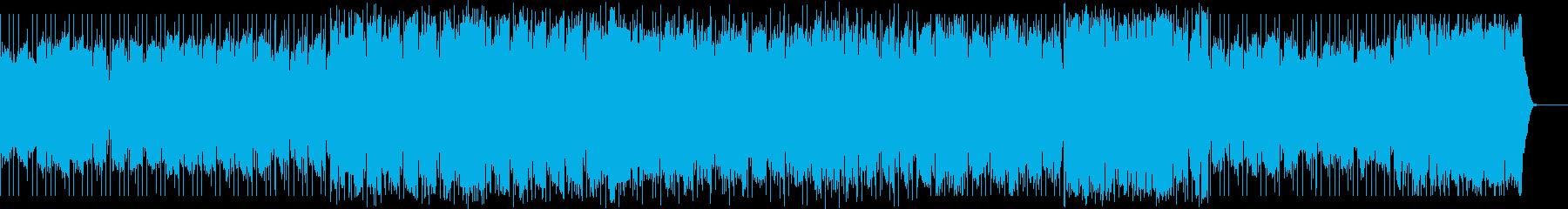 バグパイプ・アイリッシュな村祭りの再生済みの波形