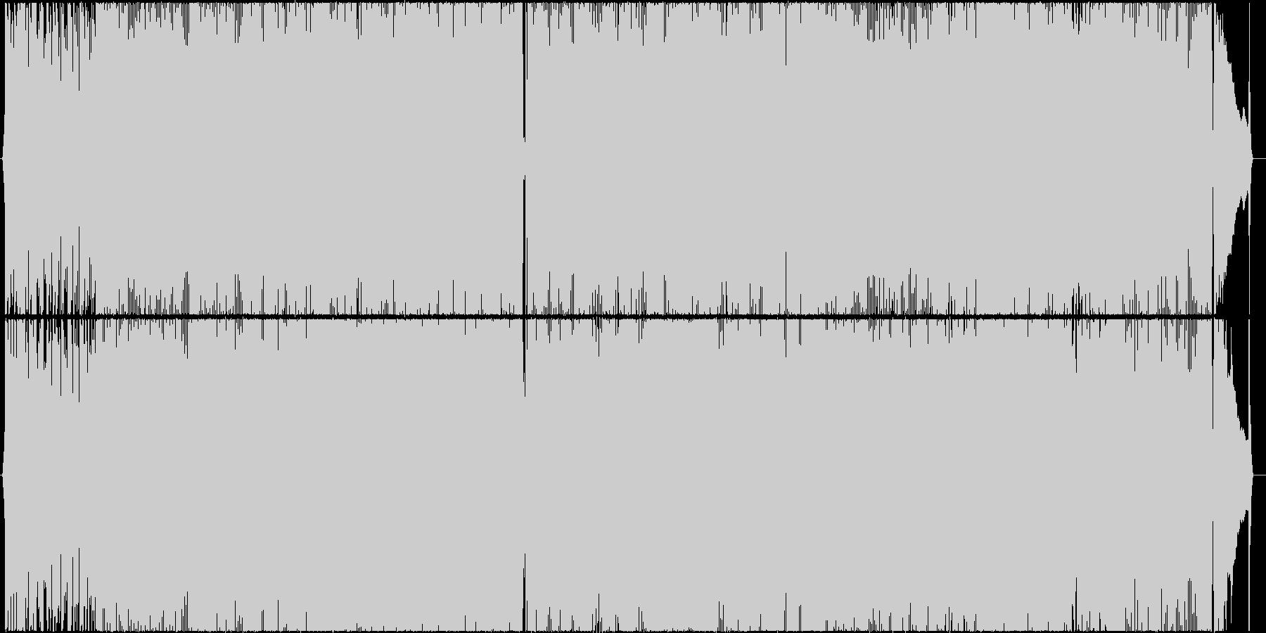 アコギメインの爽やかなポップスの未再生の波形