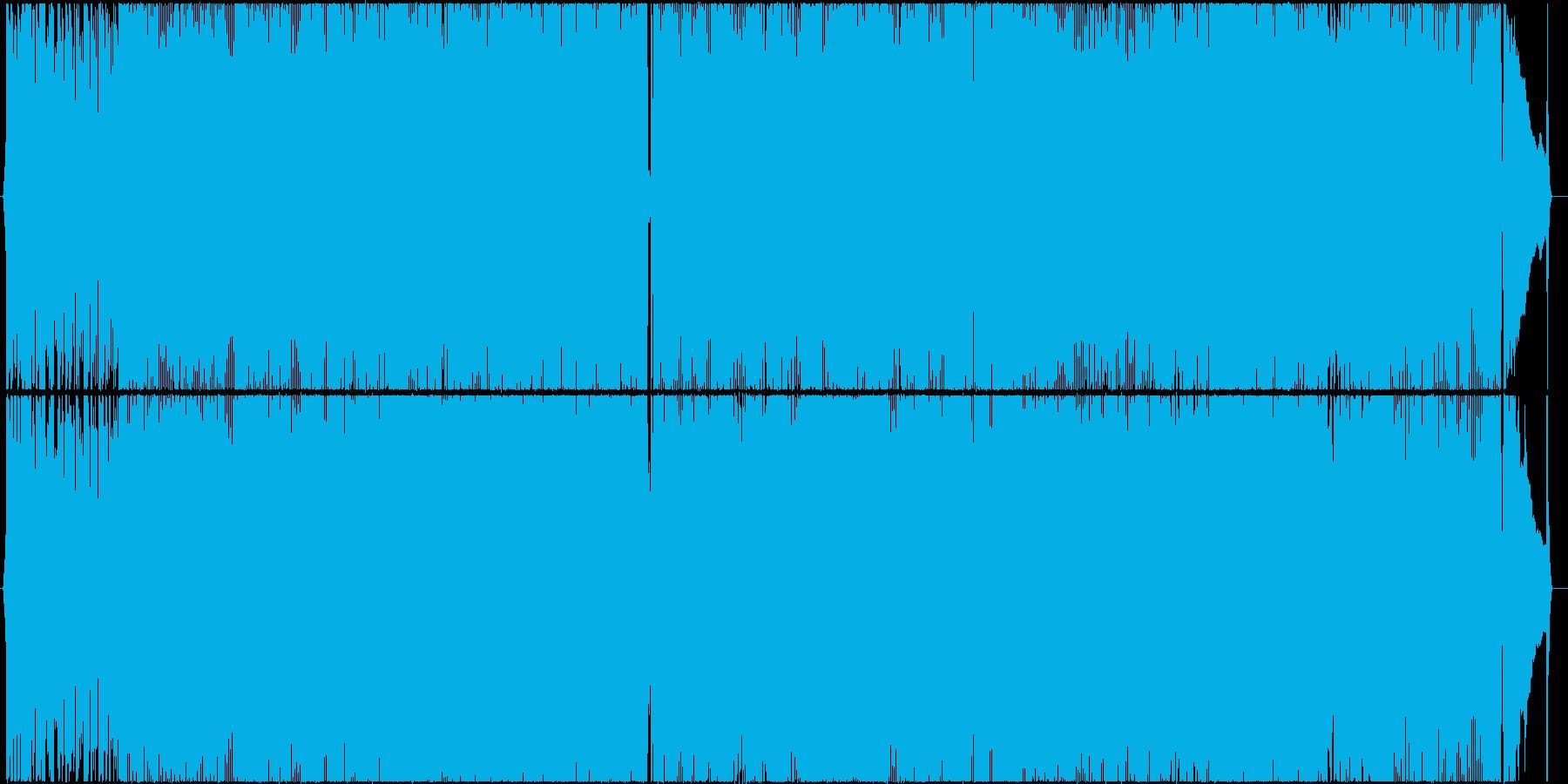 アコギメインの爽やかなポップスの再生済みの波形