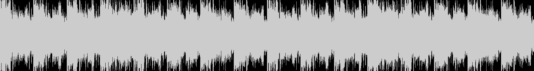 幻想的なループBGMの未再生の波形