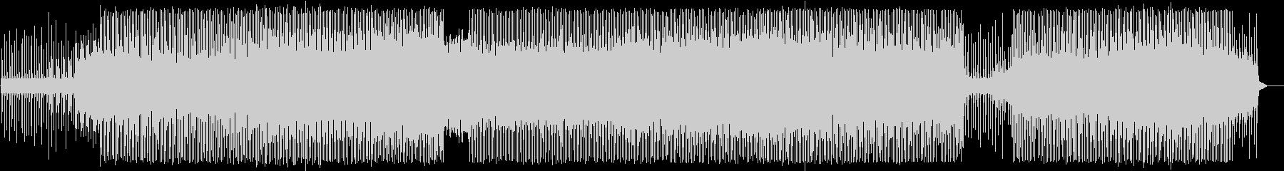 ビヨンビヨンうねるベース、アシッドハウスの未再生の波形