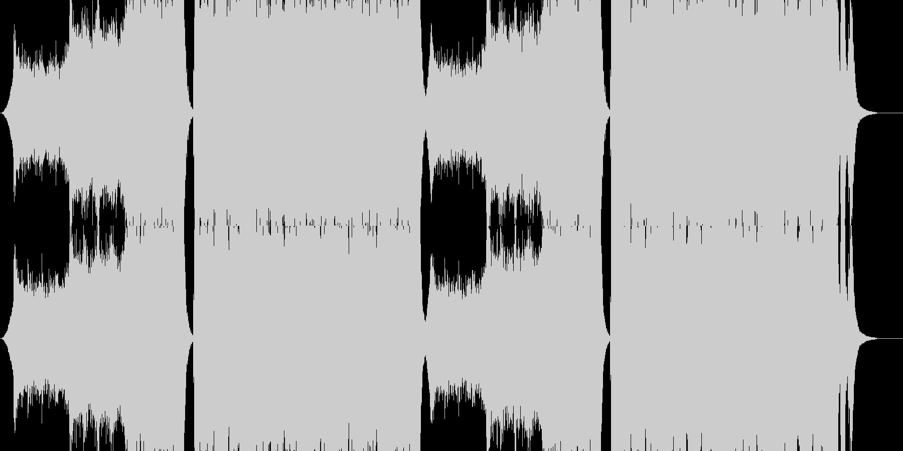 クワイヤー オーケストラ 疾走感の未再生の波形