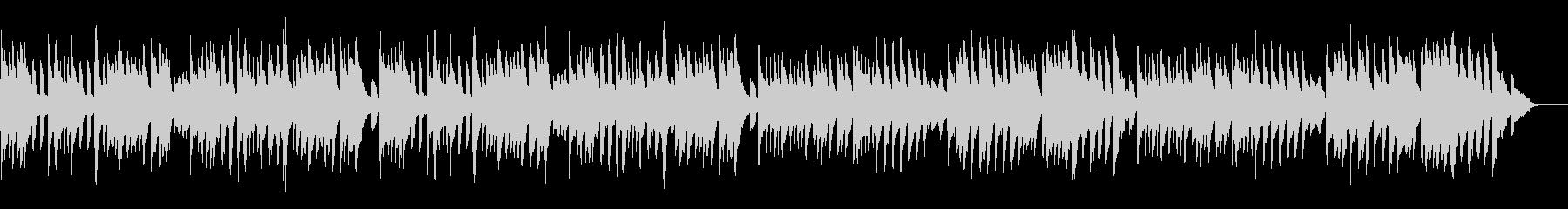 バッハのメヌエットを原曲チェンバロでの未再生の波形