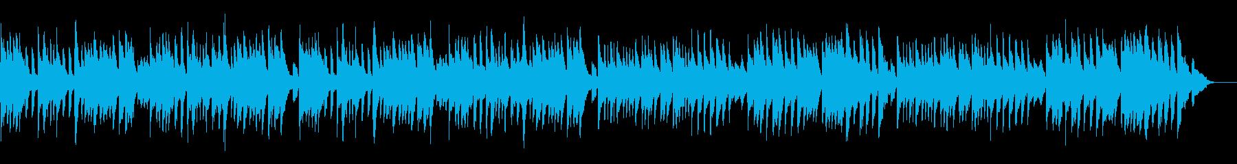 バッハのメヌエットを原曲チェンバロでの再生済みの波形