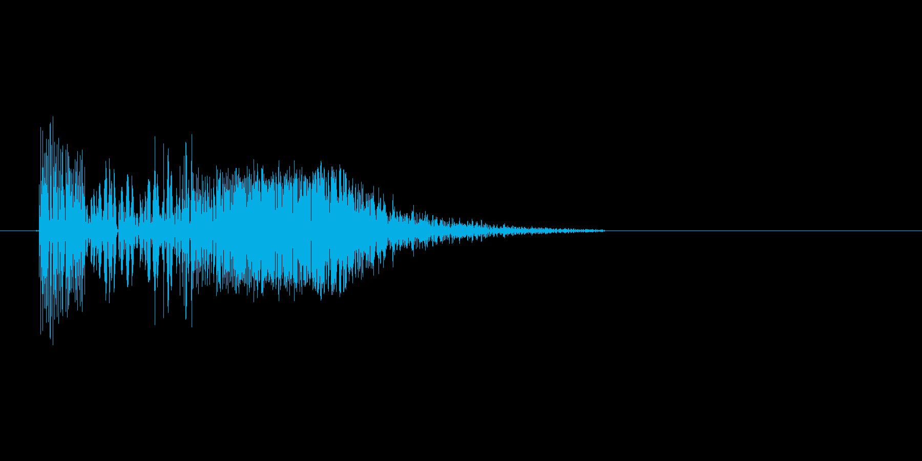 ズバッ(斬撃、剣、ダメージ)の再生済みの波形