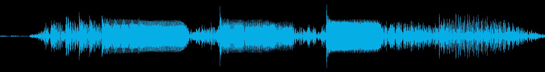 【エレキギター・フレーズ】R&R風の再生済みの波形
