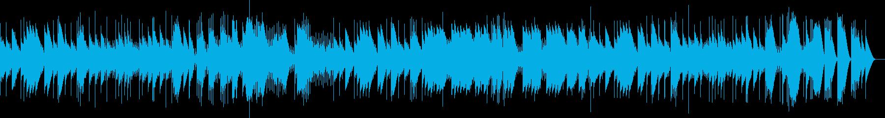 悲愴 第2楽章 フル尺(オルゴール)の再生済みの波形