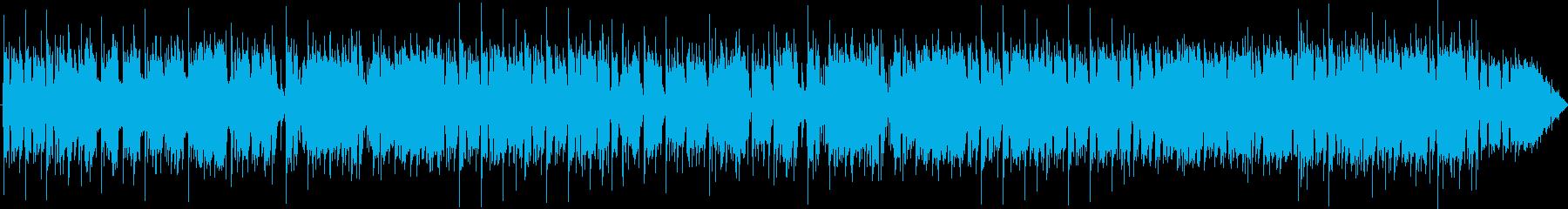 R&B風インストの再生済みの波形