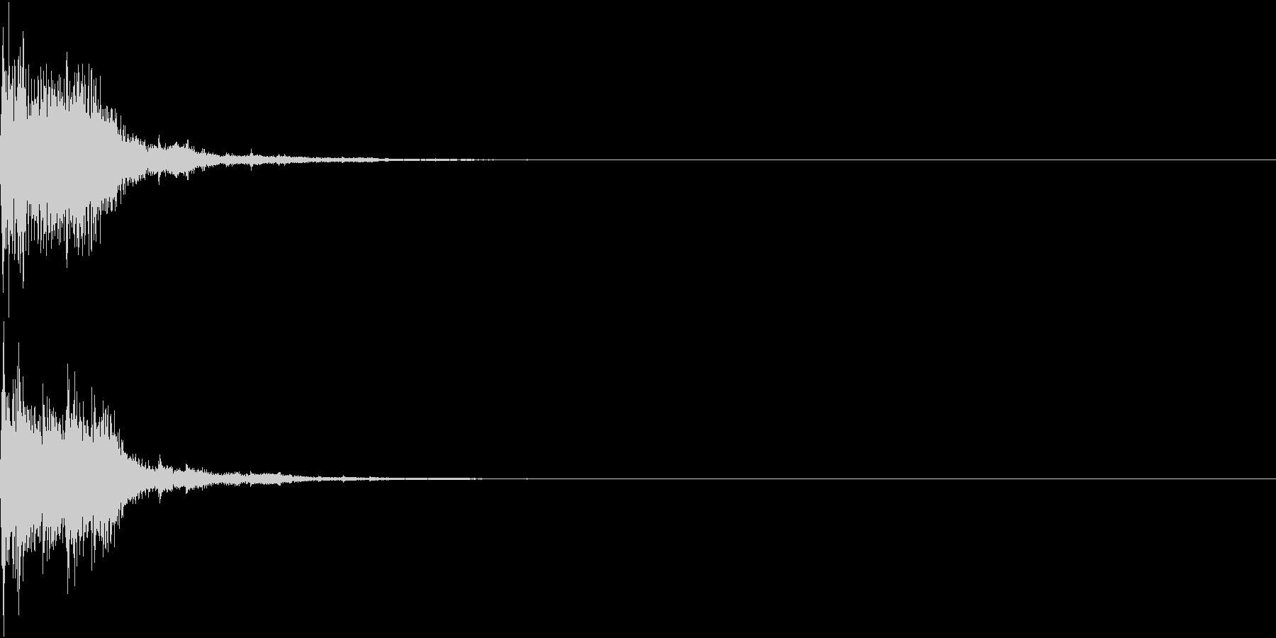 クリック パララ 発見 決定 31の未再生の波形