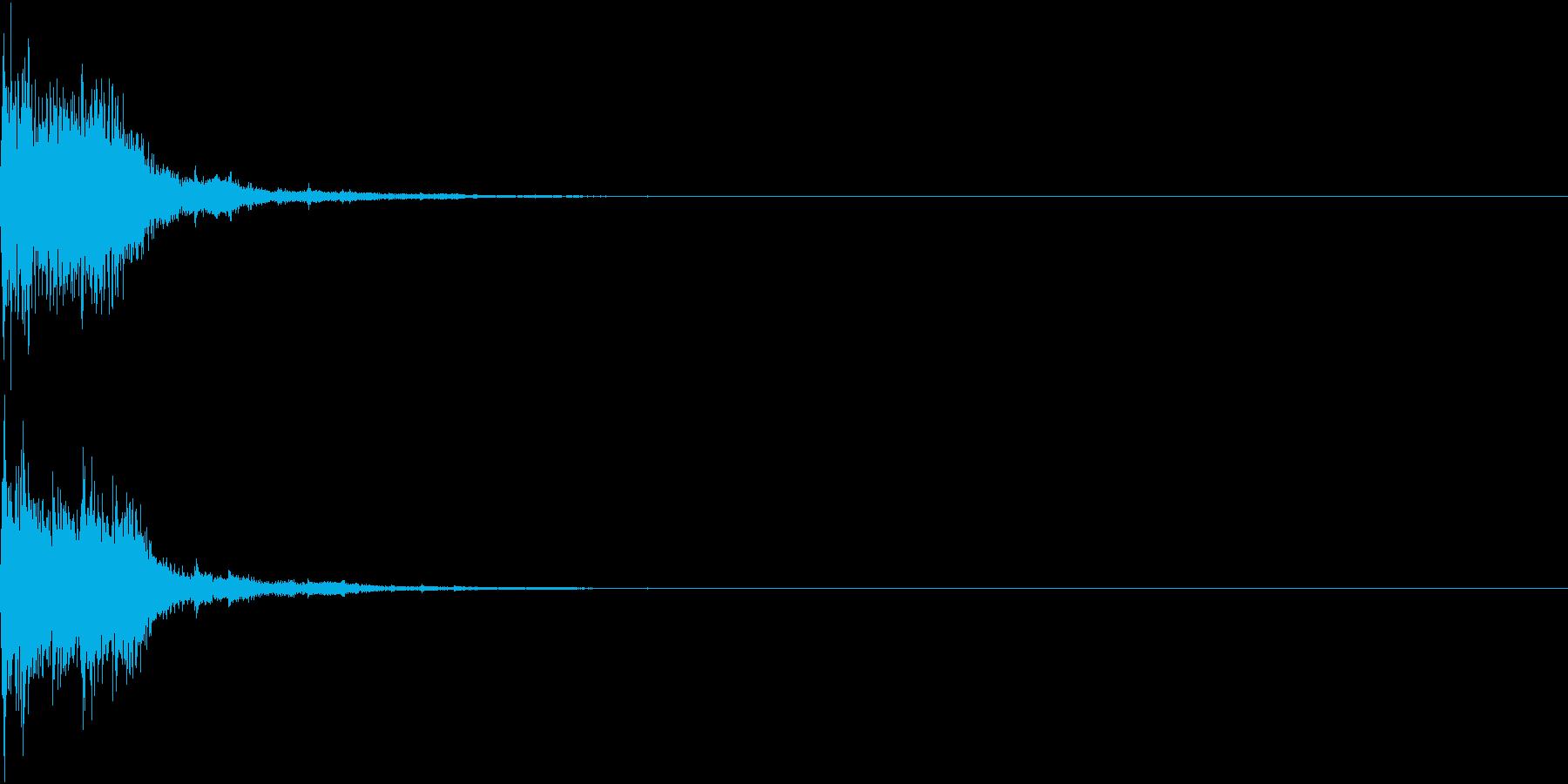 クリック パララ 発見 決定 31の再生済みの波形