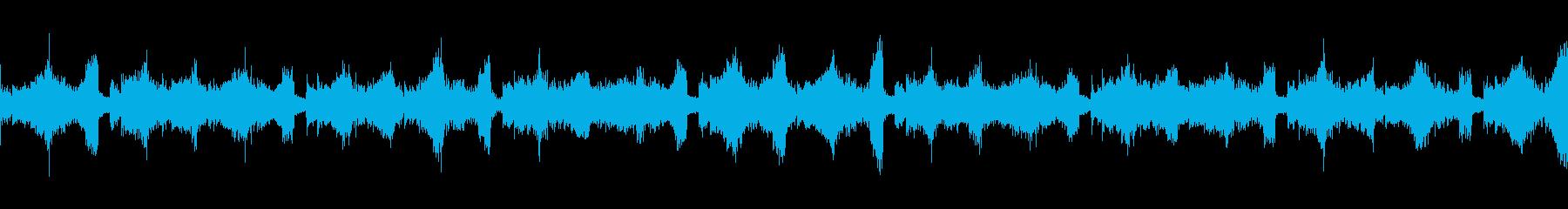 緊迫した重めのロックAパートループの再生済みの波形