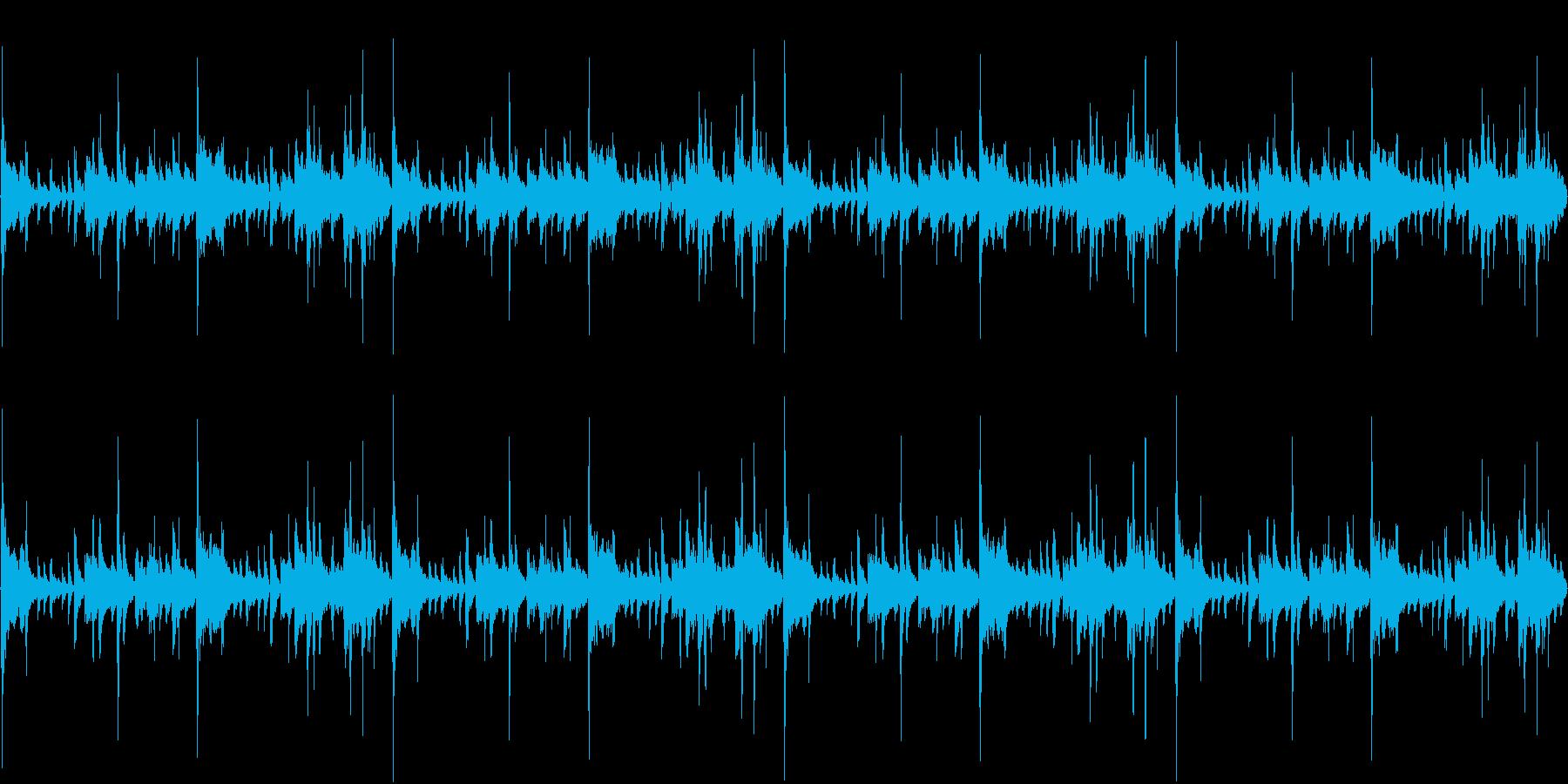 114bpm、Ab-Maj、アラブ調の再生済みの波形