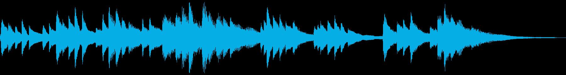 和風のジングル2-ピアノソロ(高音強調)の再生済みの波形