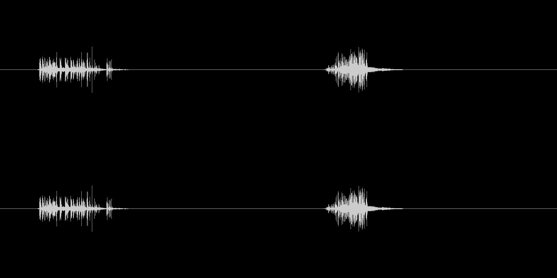 【ガムテープ01-1(引く・切る)】の未再生の波形