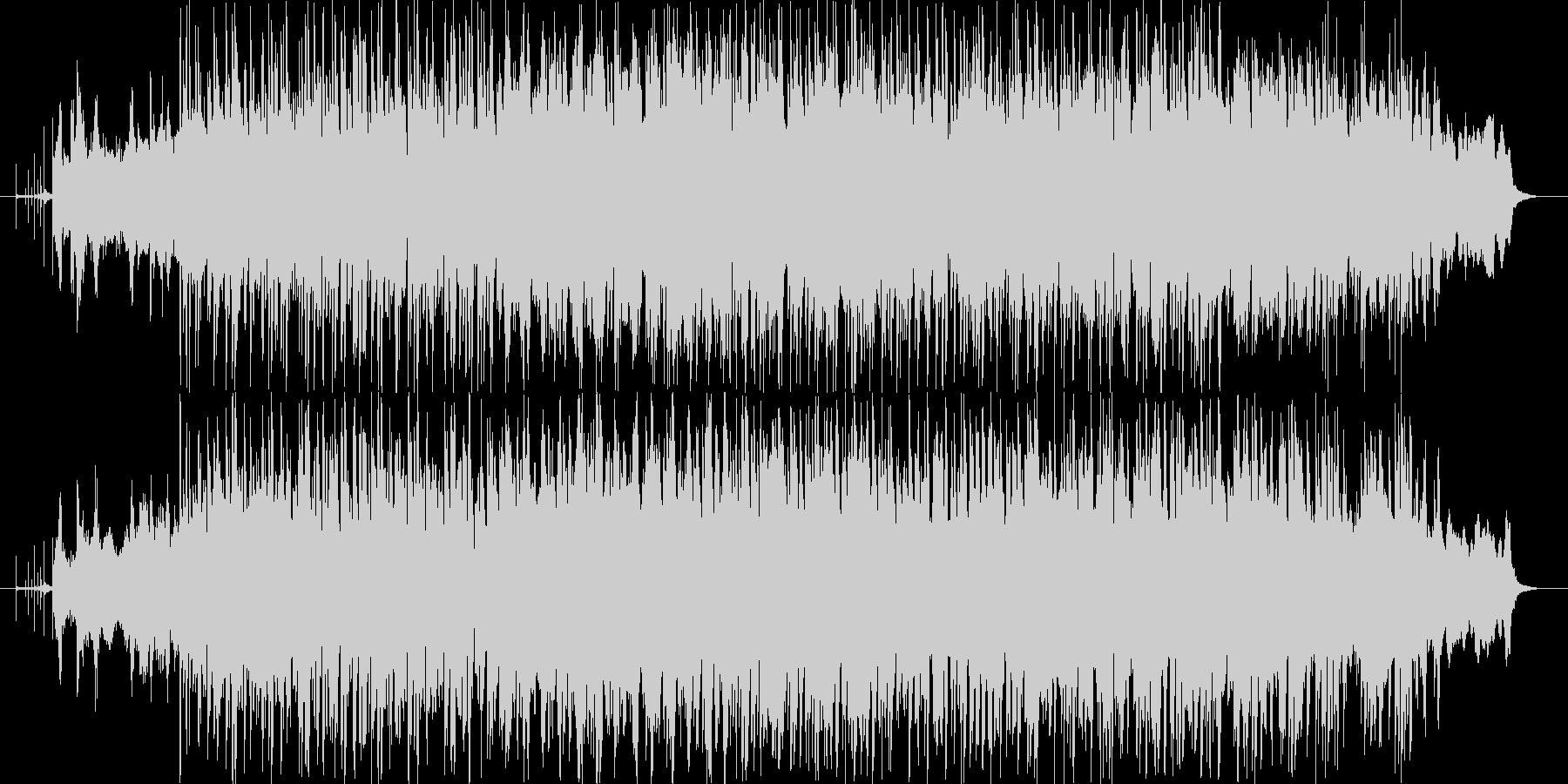 ハードでダークなスローロックオリジナルの未再生の波形