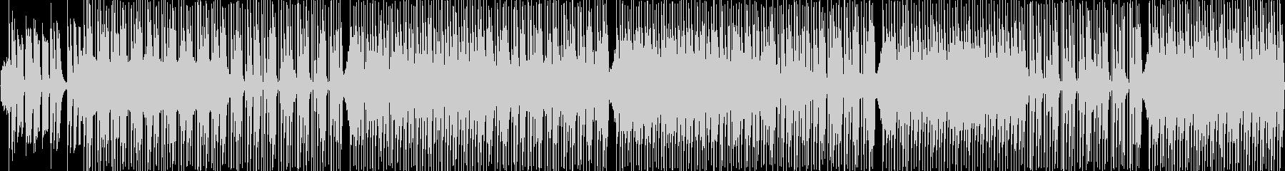 時代劇を意識したBGMの未再生の波形