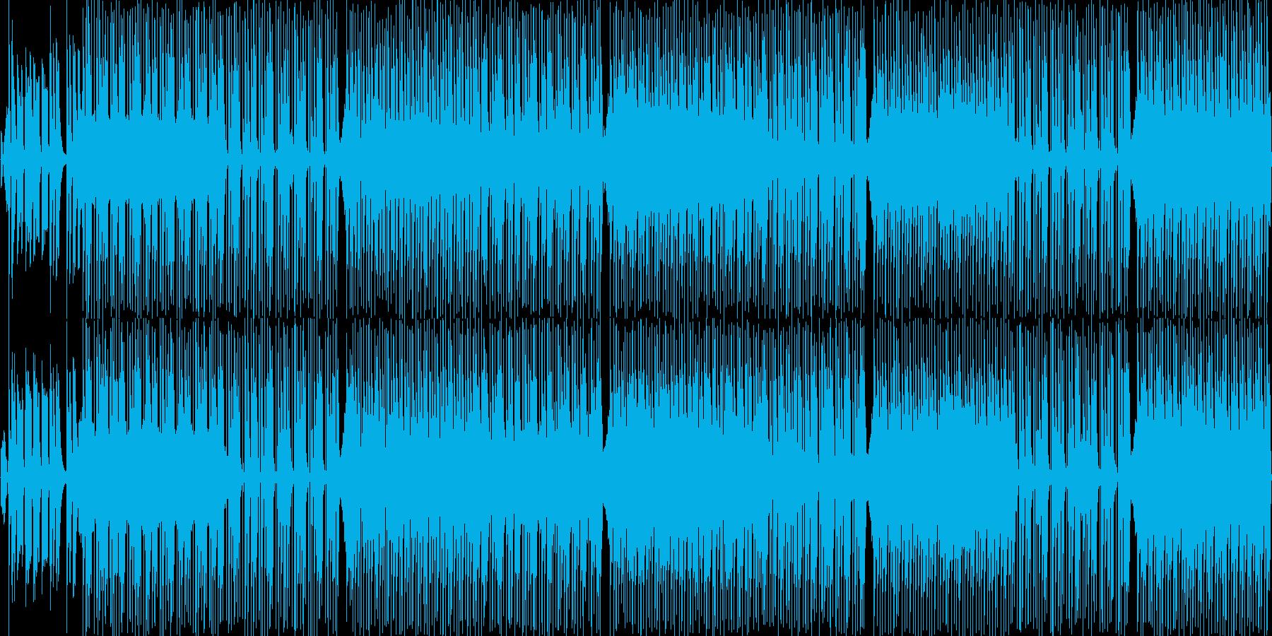 時代劇を意識したBGMの再生済みの波形