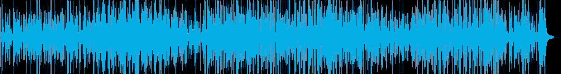 癒しのジャズの再生済みの波形