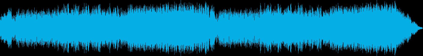 フォルクローレ風のファンタジーBGMの再生済みの波形