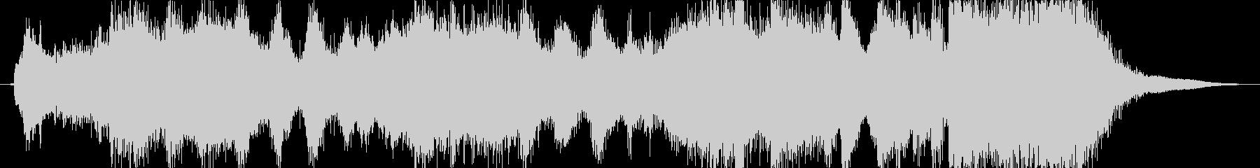 邪悪なイメージのファンファーレ2の未再生の波形