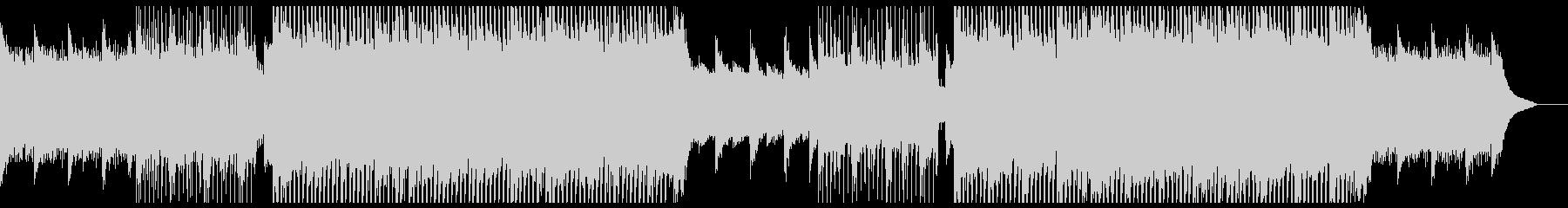 爽やかなピアノのチルアウトシンフォニー。の未再生の波形