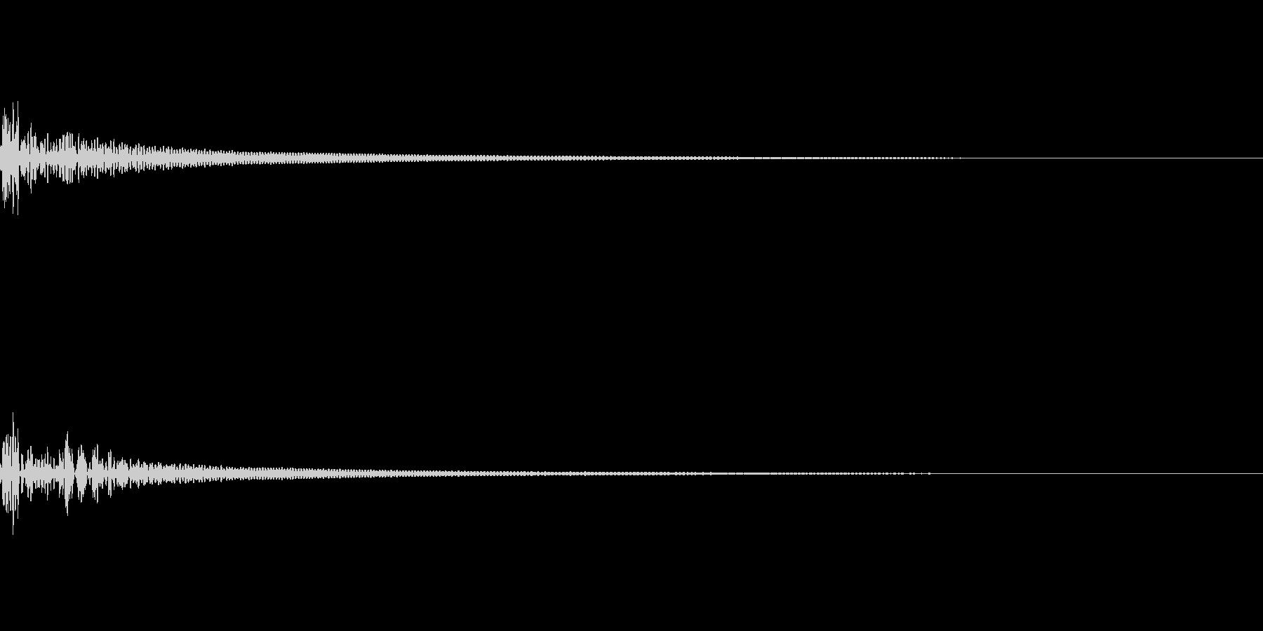 キャンセル 和風06の未再生の波形