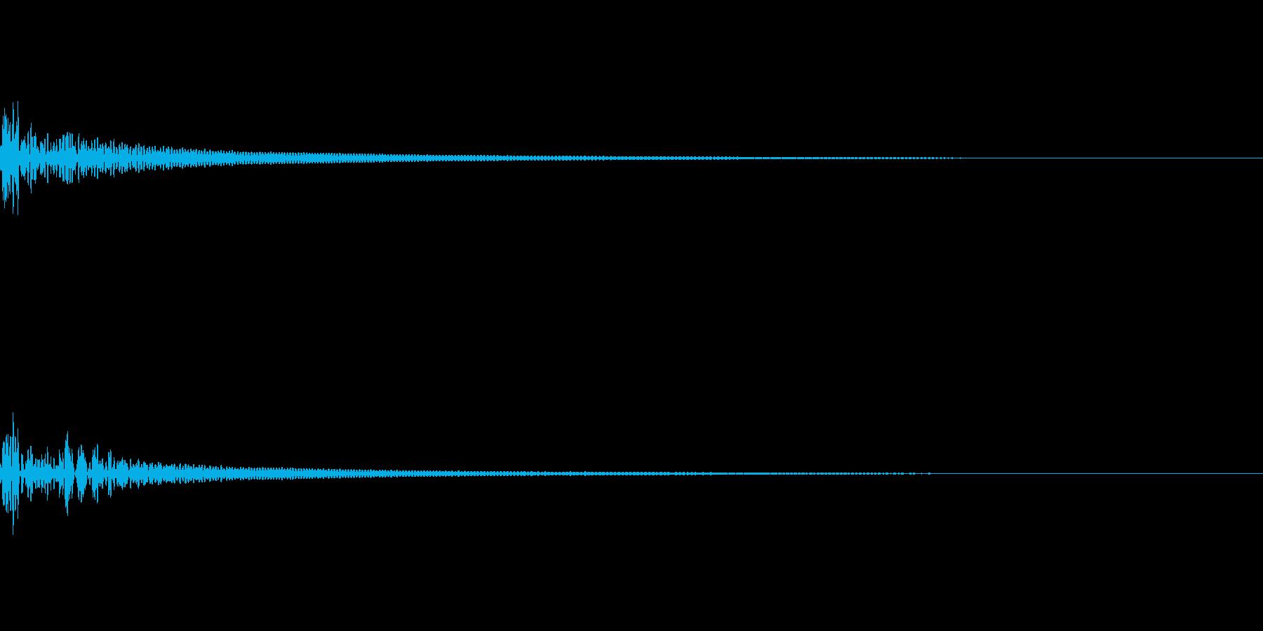 キャンセル 和風06の再生済みの波形