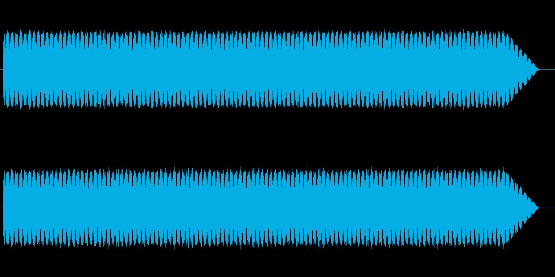 アメパトのサイレンの再生済みの波形