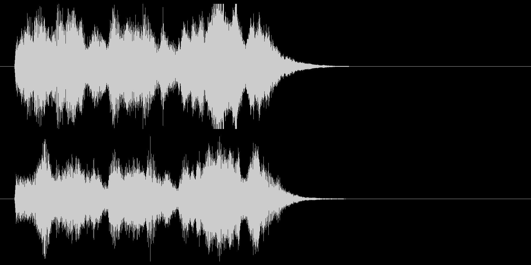 ポップでキャッチ―シンセジングルの未再生の波形