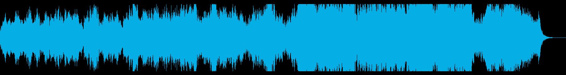 エンディング向けファンタジックなBGMの再生済みの波形